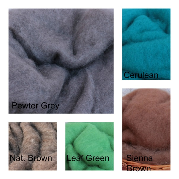 Wool Fluff Selection 3